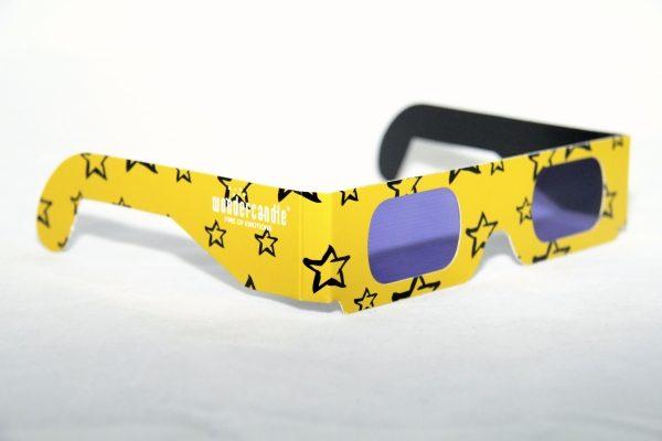 3D akiniai (žvaigždės)