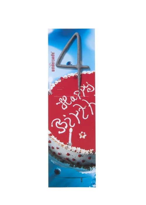 """Bengališka ugnelė skaičius """"4"""""""